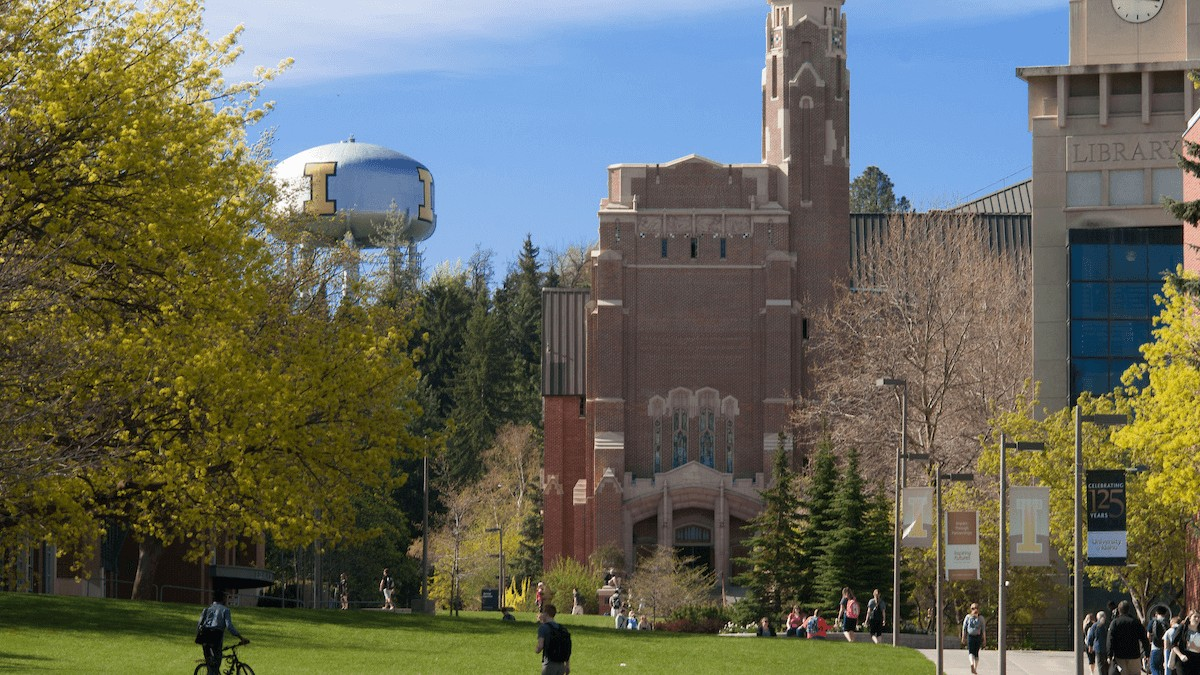 Memorial Gym at the University of Idaho