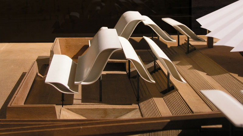This architectural model of a music hall closely resembles the work done by College of Art and Architecture students here at the University of Idaho. This photo was provided by seier+seier of flickr under Creative Commons Licensing.
