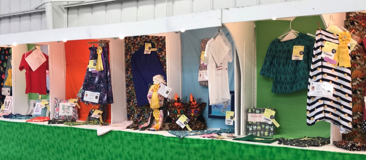 4-H Fair Displays including Clothing
