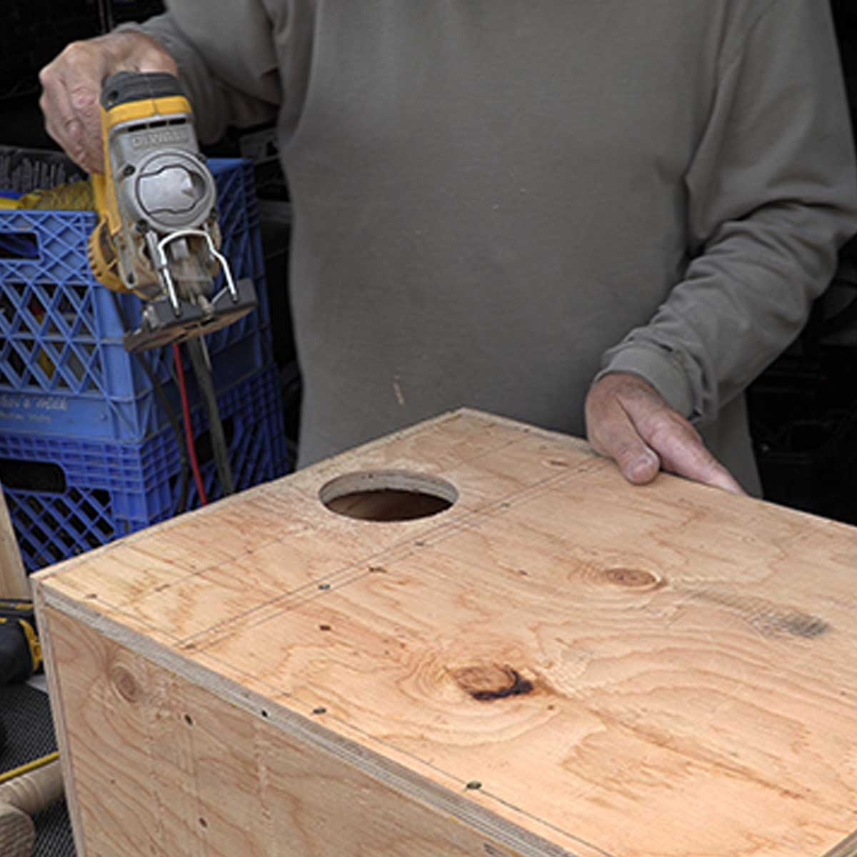 building an owl box