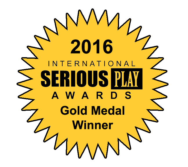 2016 International Serious Play Awards Gold Medal Winner