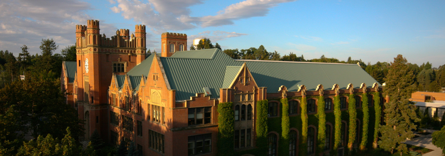 The University of Idaho Administration Building