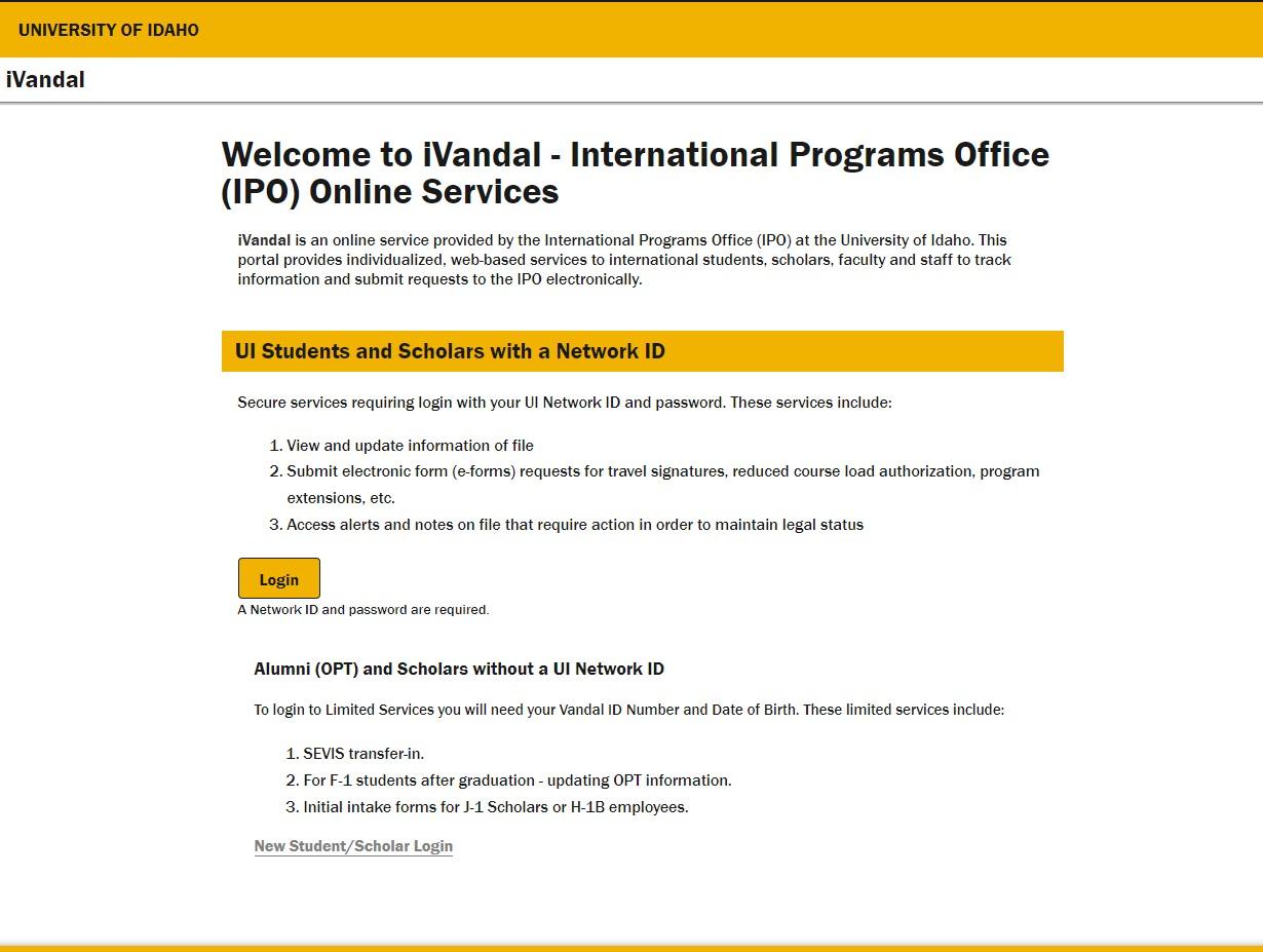 Ivandal - International programs office ...