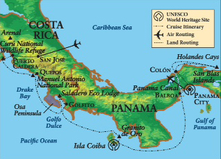 Passage Through the Panama Canal & Costa Rica