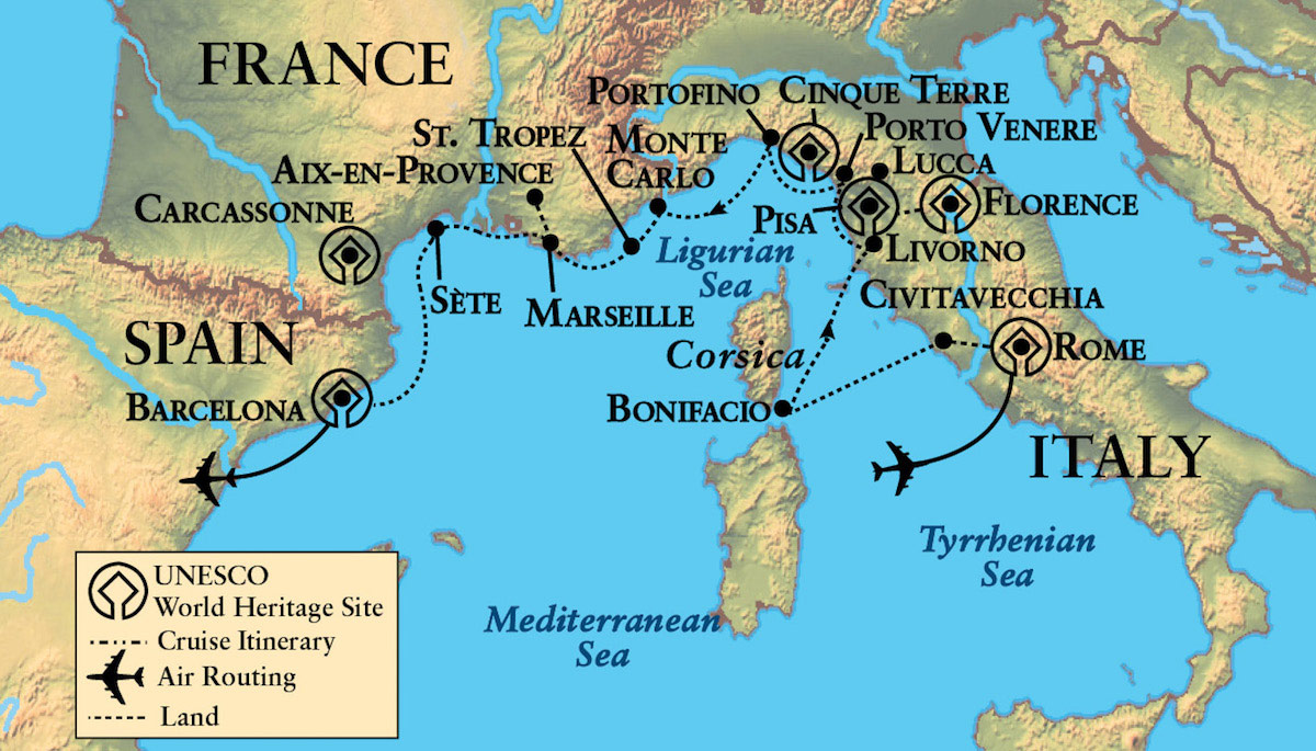 Rivieras and Islands France Italy and Spain