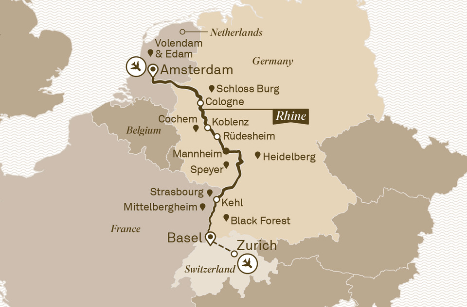 Image Preview of Rhine Tour Map