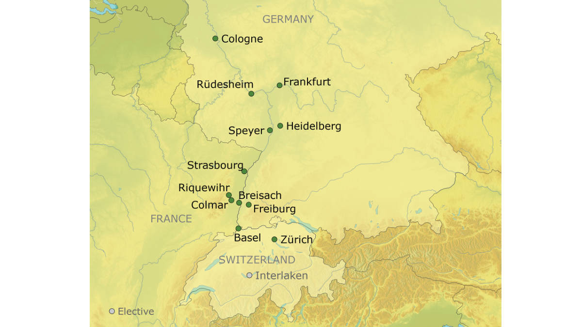 Holiday Markets Tour Cologne To Basel