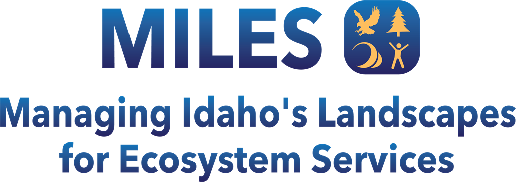 Link to Managing Idaho's Landscapes for Ecosystem Services project.