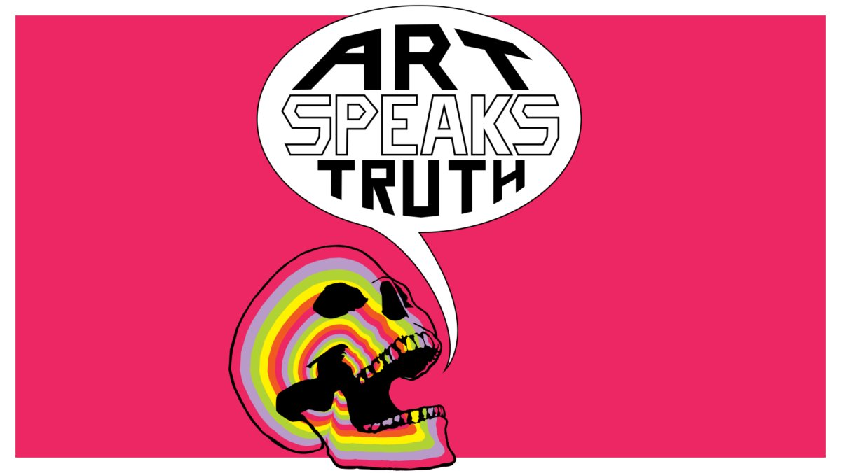 Art Speaks Truth competition logo