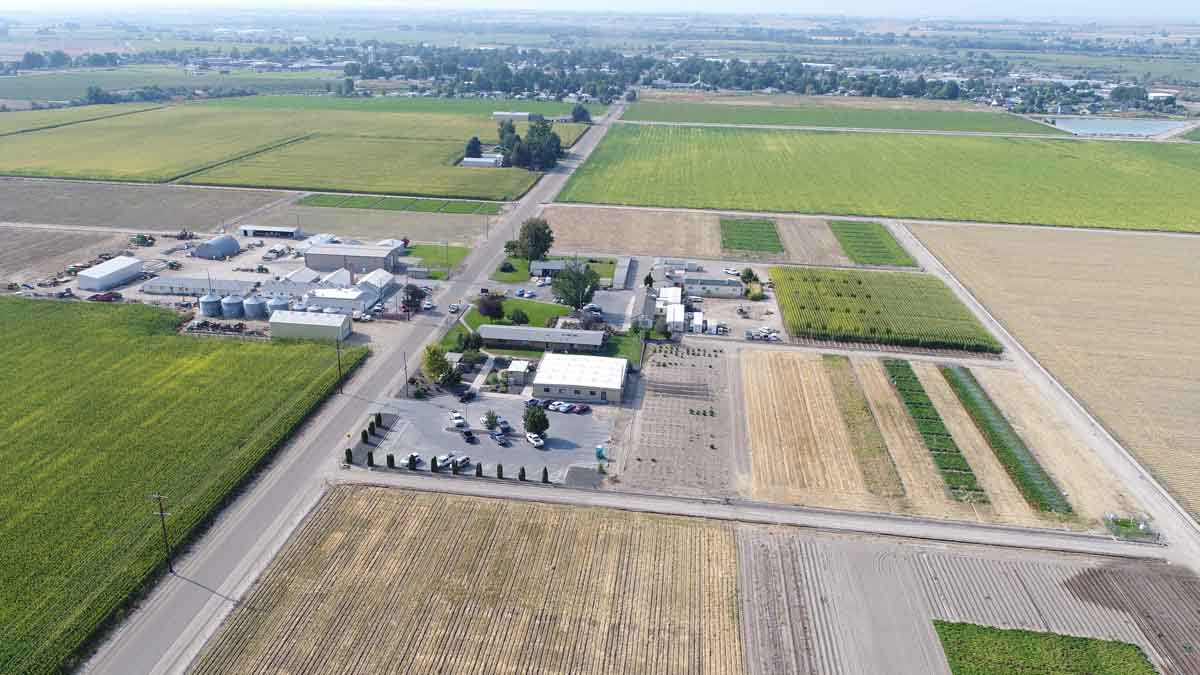 Ariel view of Parma Research and Extension Center