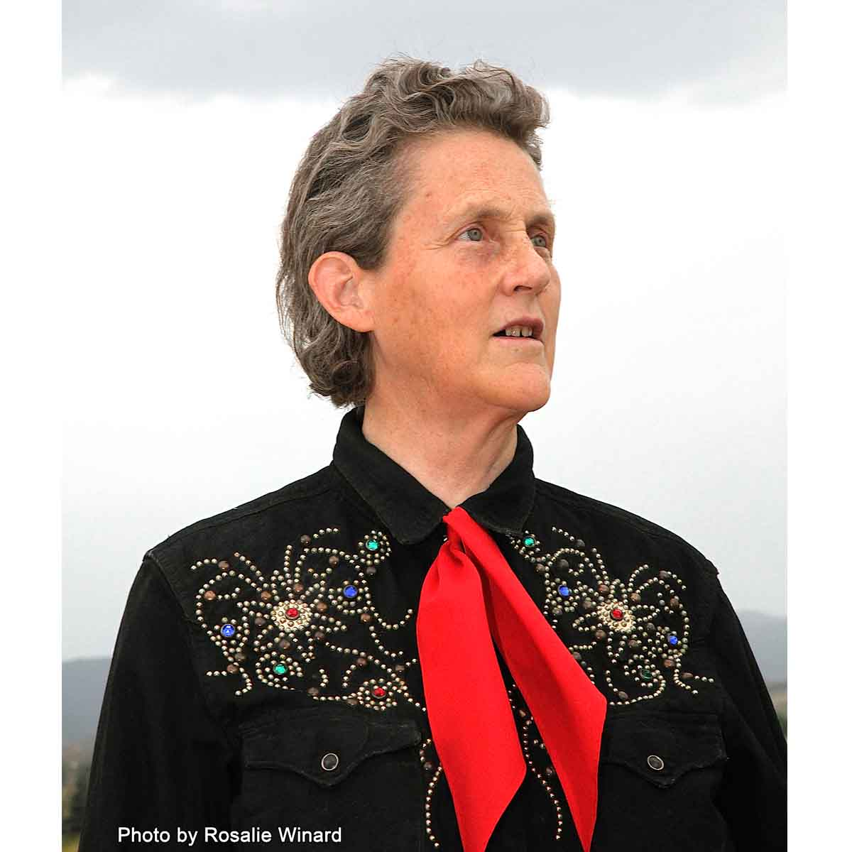 Temple Grandin, a professor of animal science at Colorado State University and autism spokesperson