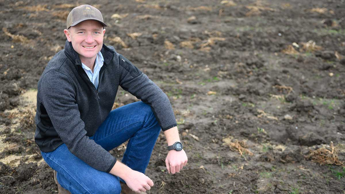 A love of the outdoors and a strong veteran's community brought Danny Baldwin to the University of Idaho and a degree in sustainable cropping systems.