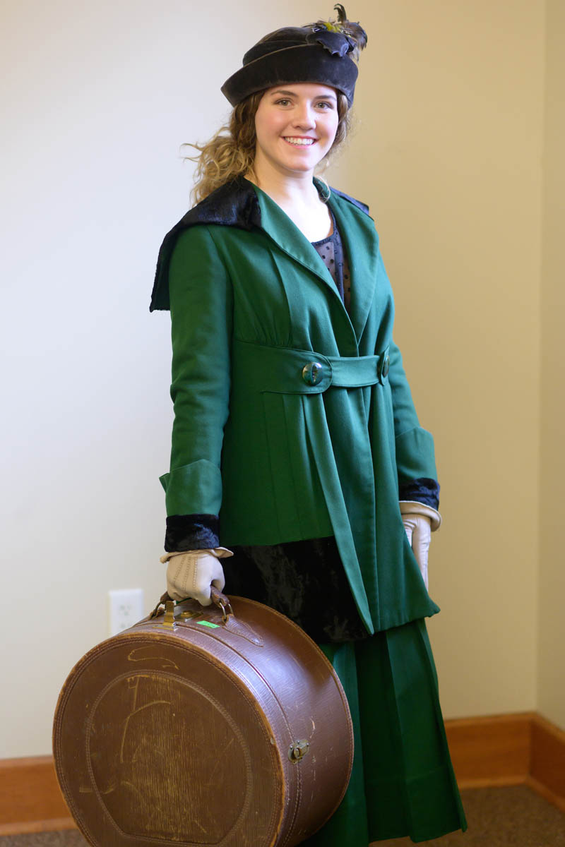 Garments and accessories from the Leila Old Historic Costume Collection being displayed during the 2019 Wine and Cheese Gala