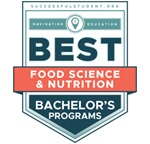 Ranked 3rd in the nation for best food science program.
