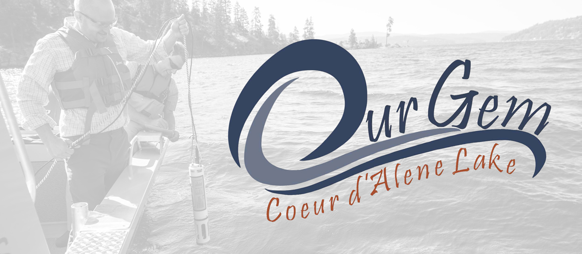 Our Gem Coeur d'Alene Lake logo