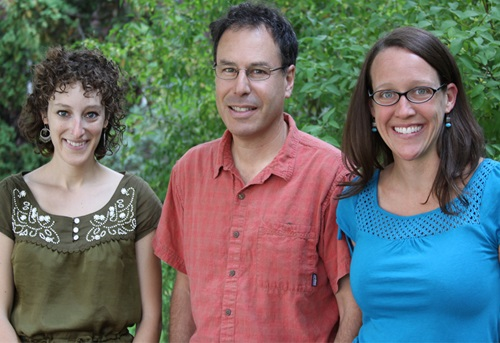 Erin James, Scott Slovic and Jennifer Landino