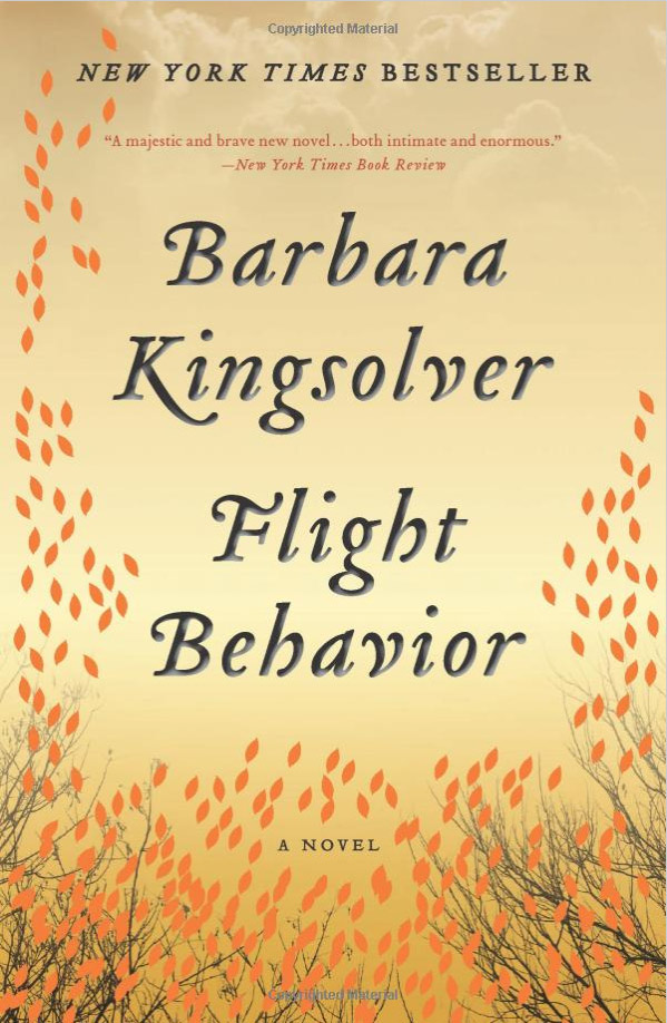 "Cover of Flight Behavior"" by Barbara Kingsolver"