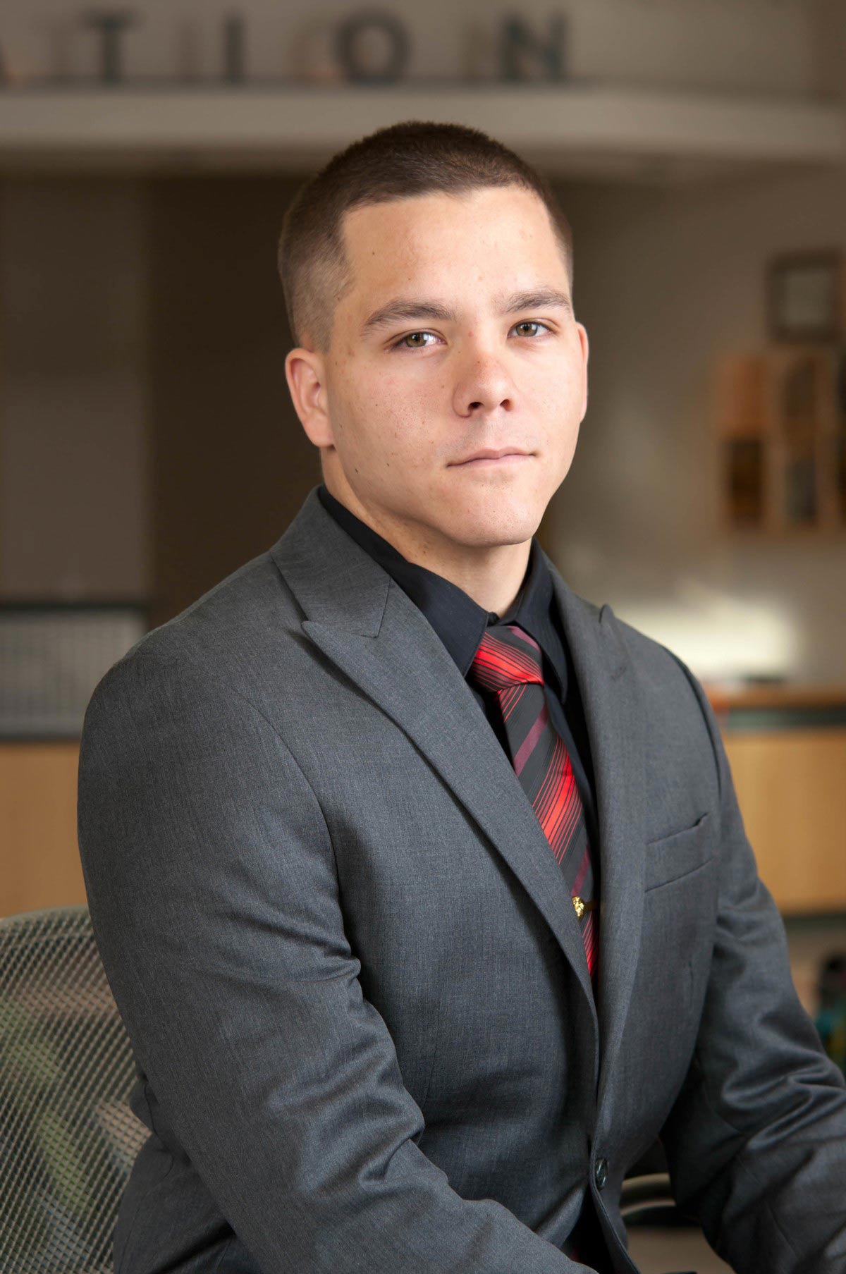 Alumnus Brett Travis, 2016 graduate in International Studies
