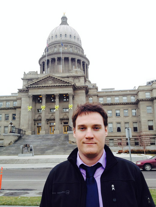Jeff Myers, who spent 2015 covering the Idaho State Legislature from the State Capitol Bureau