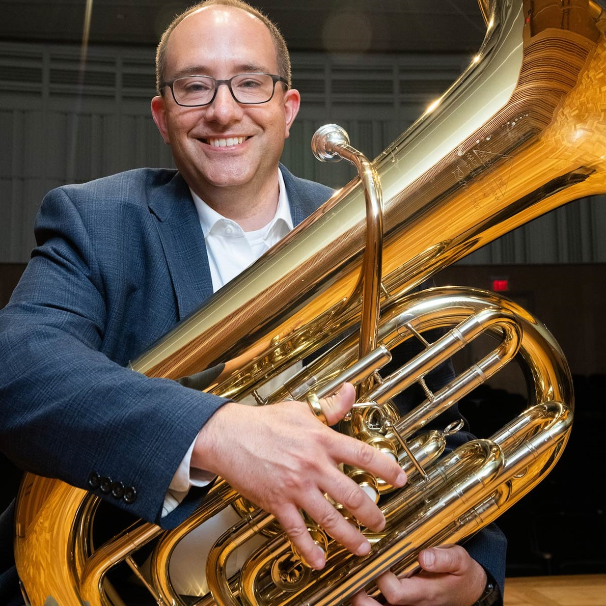 Mark Thiele, Assistant Professor of Tuba, Euphonium and Director of Bands
