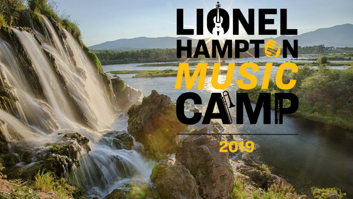 Lionel Hampton Music Camp 2019 with Logo