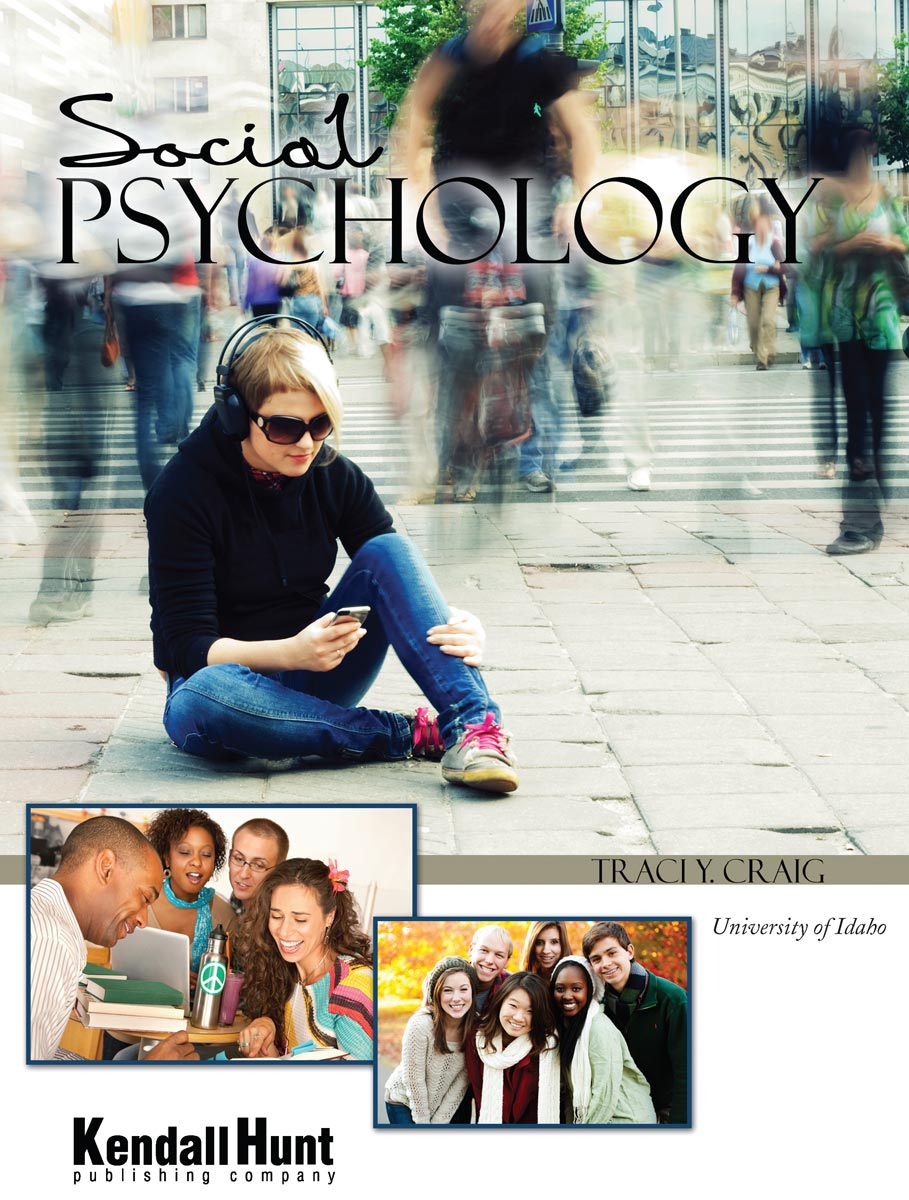 The cover of Traci Craig's book, Social Psychology