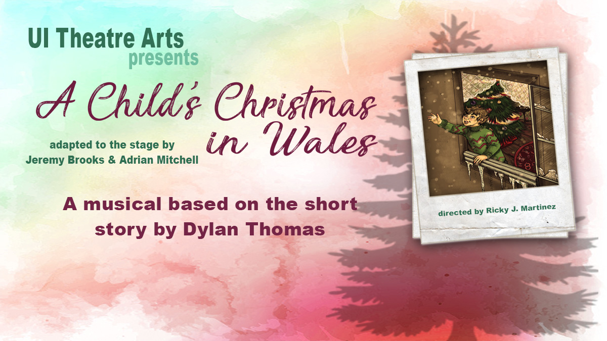 poster from Child's Christmas in Wales