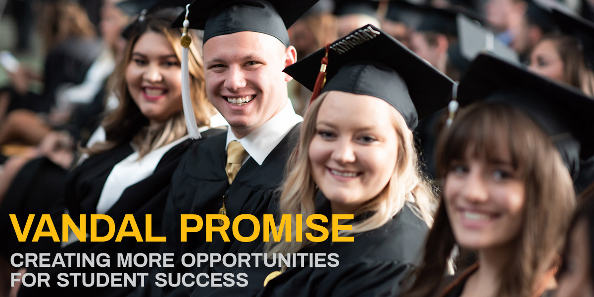 Vandal Promise: Creating more opportunities for student success