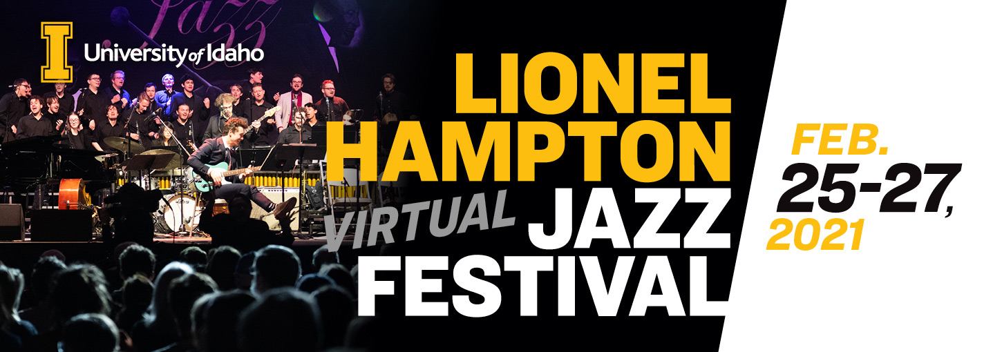 Virtual Lionel Hampton Jazz Festival Feb. 25-27, 2021