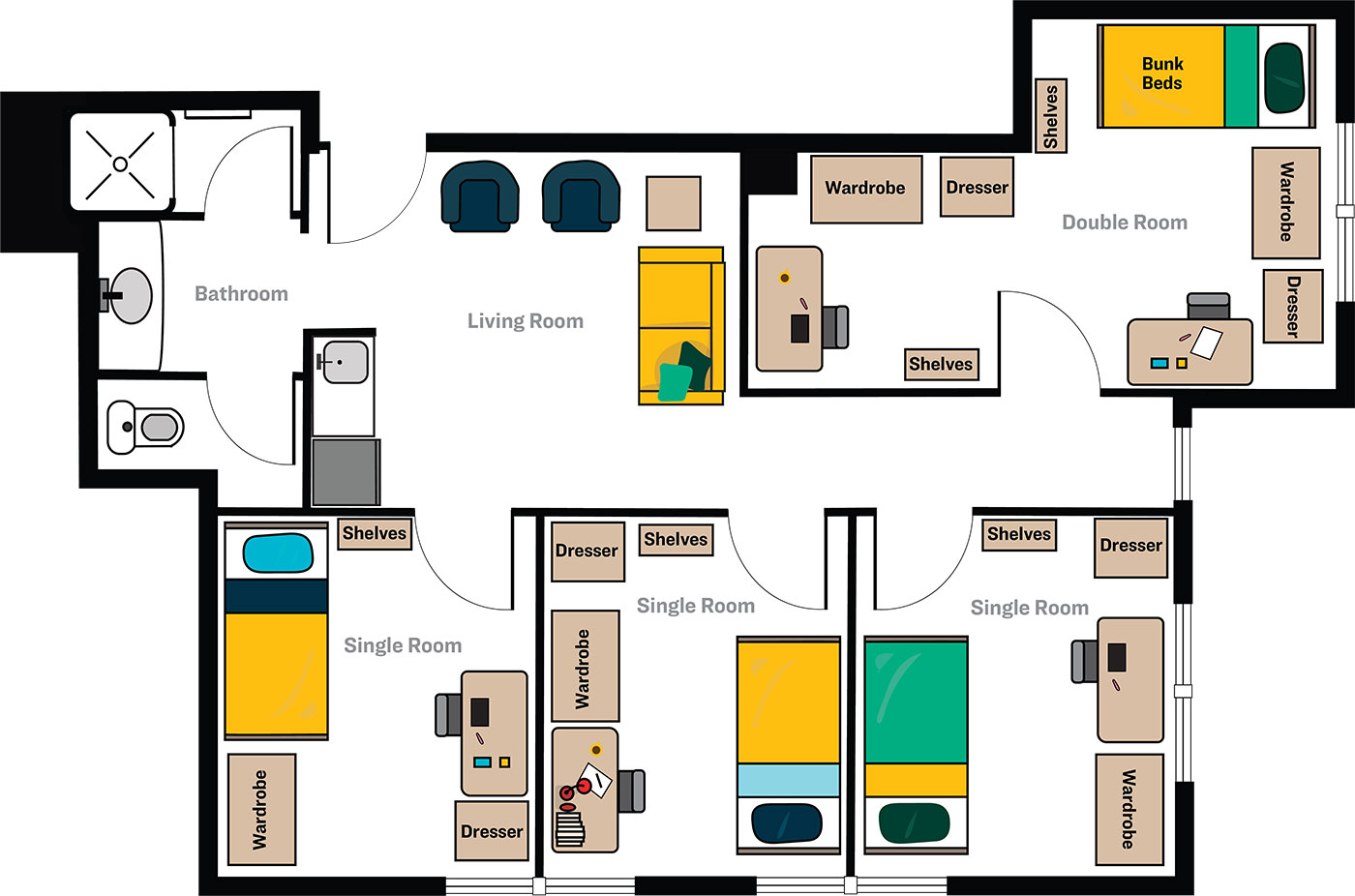 CNR LLC Floorplan