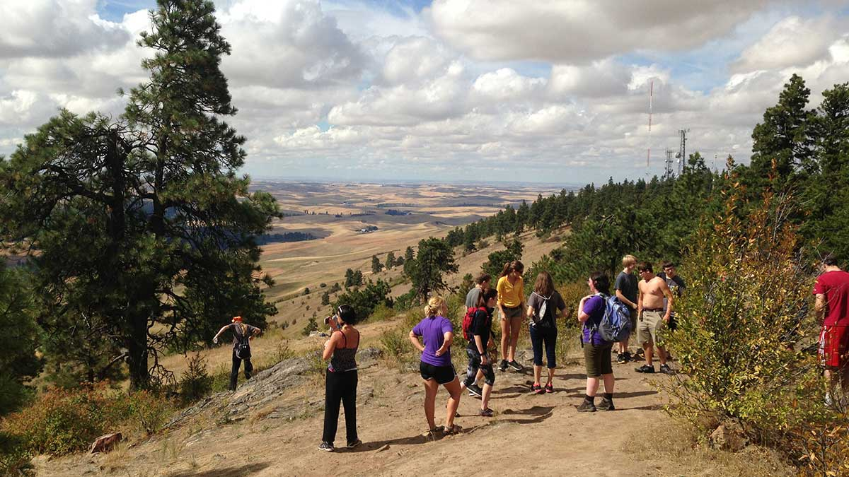 Kamiak Butte, national landmark