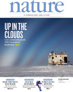 Nature magazine cover