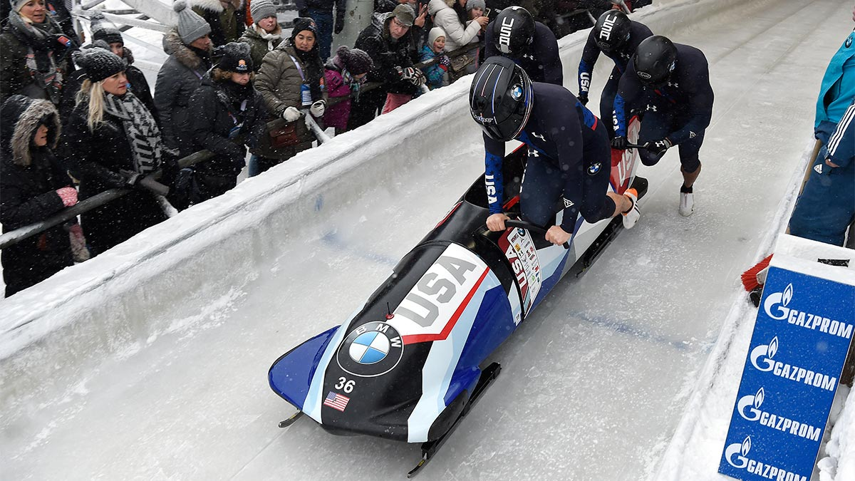 USA Olympic Bobsled 4-man team