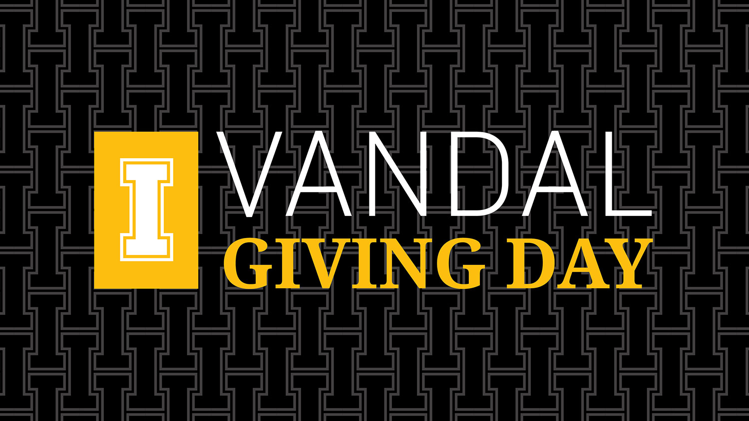 VANDAL GIVING DAY