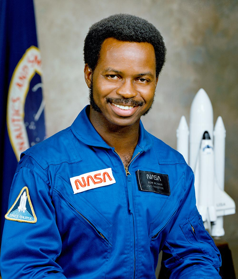 Ronald E. McNair in NASA uniform