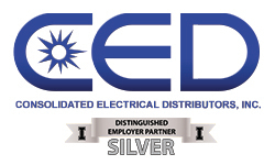 Consolidated Electrical Distributors, Inc. - Silver Distinguished Employer Partner