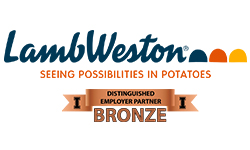 Lamb Weston logo - Distinguished Employer Partner Bronze