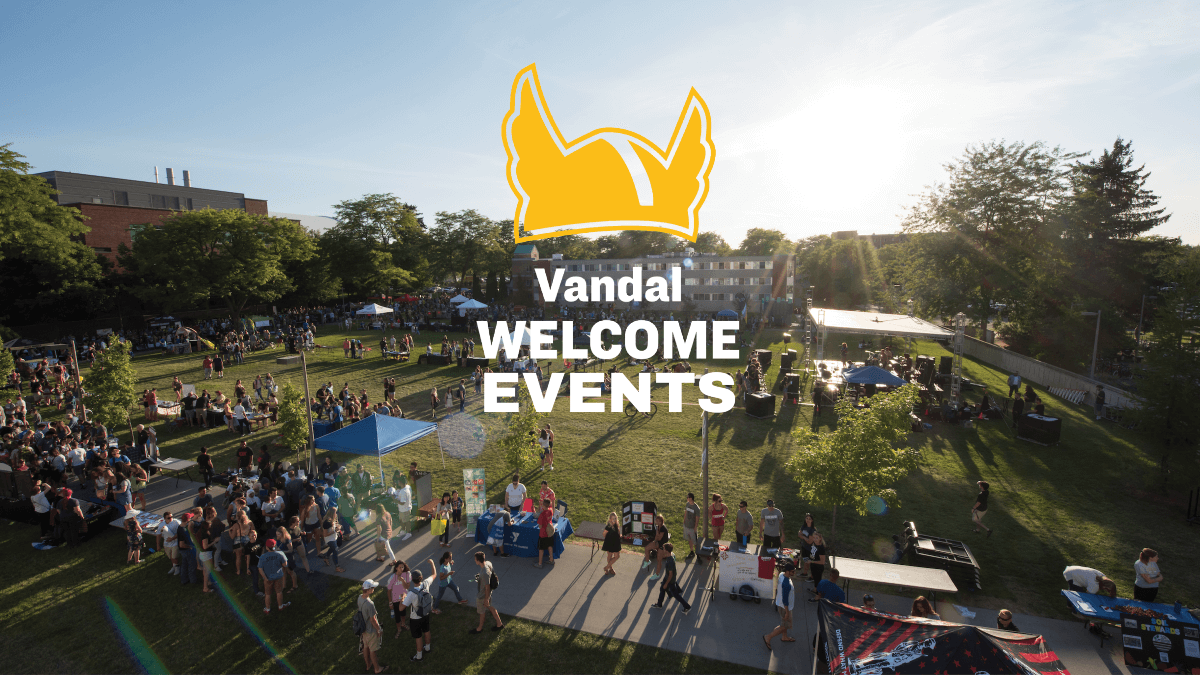 Vandal Welcome Events 2019