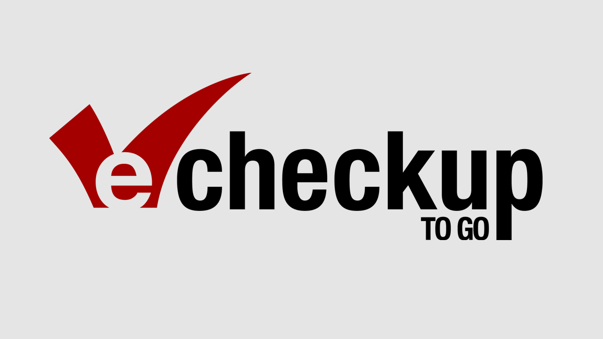E-checkup to go logo