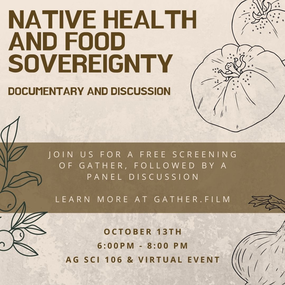 Native Health and Food Sovereignty