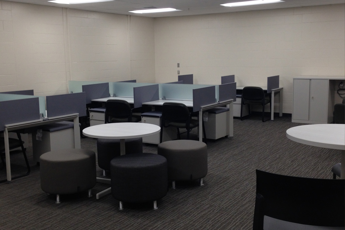 The new graduate student offices