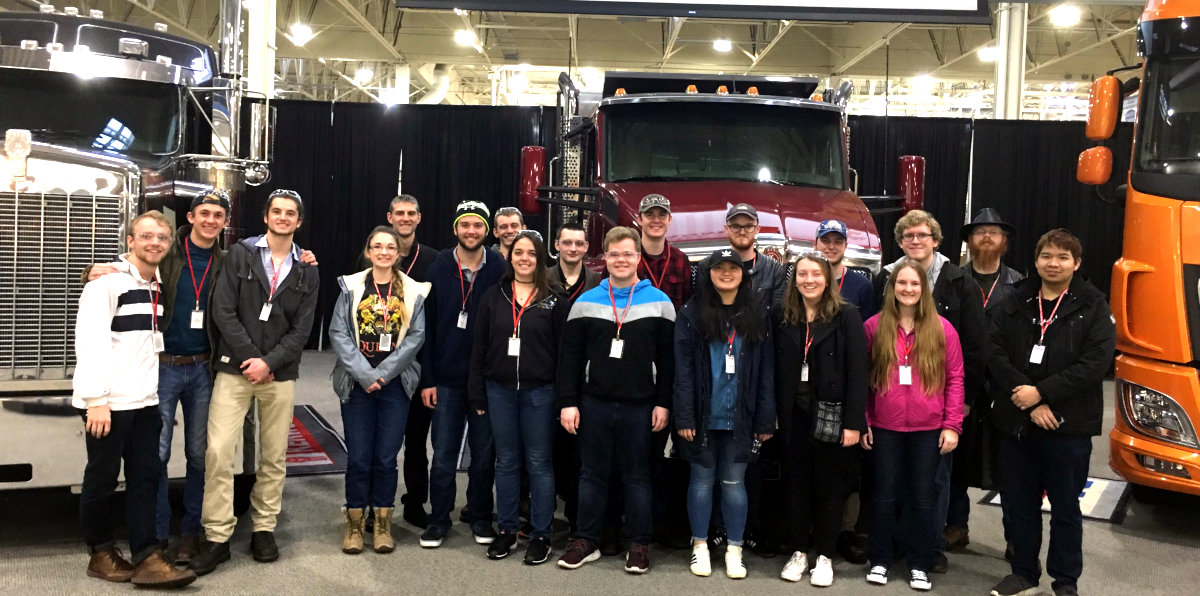 ASME Members at Kenworth's truck assembly plant in Renton