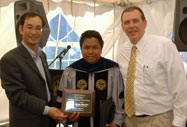 Outstanding Graduate Student - Randy Maglinao