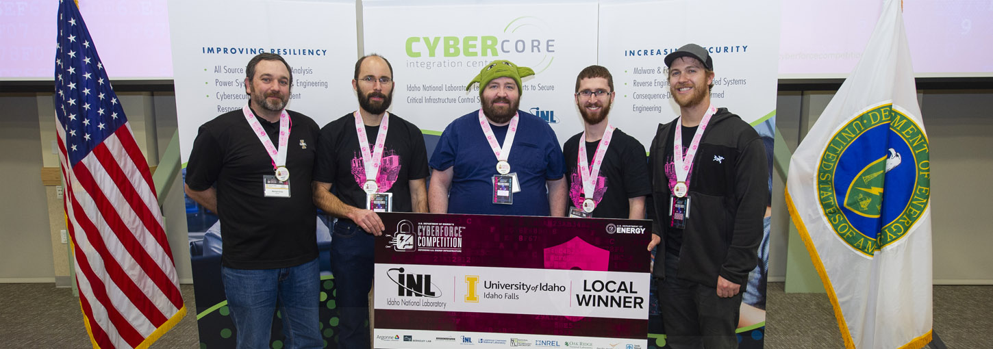 2019 Cyberforce Competition Winners