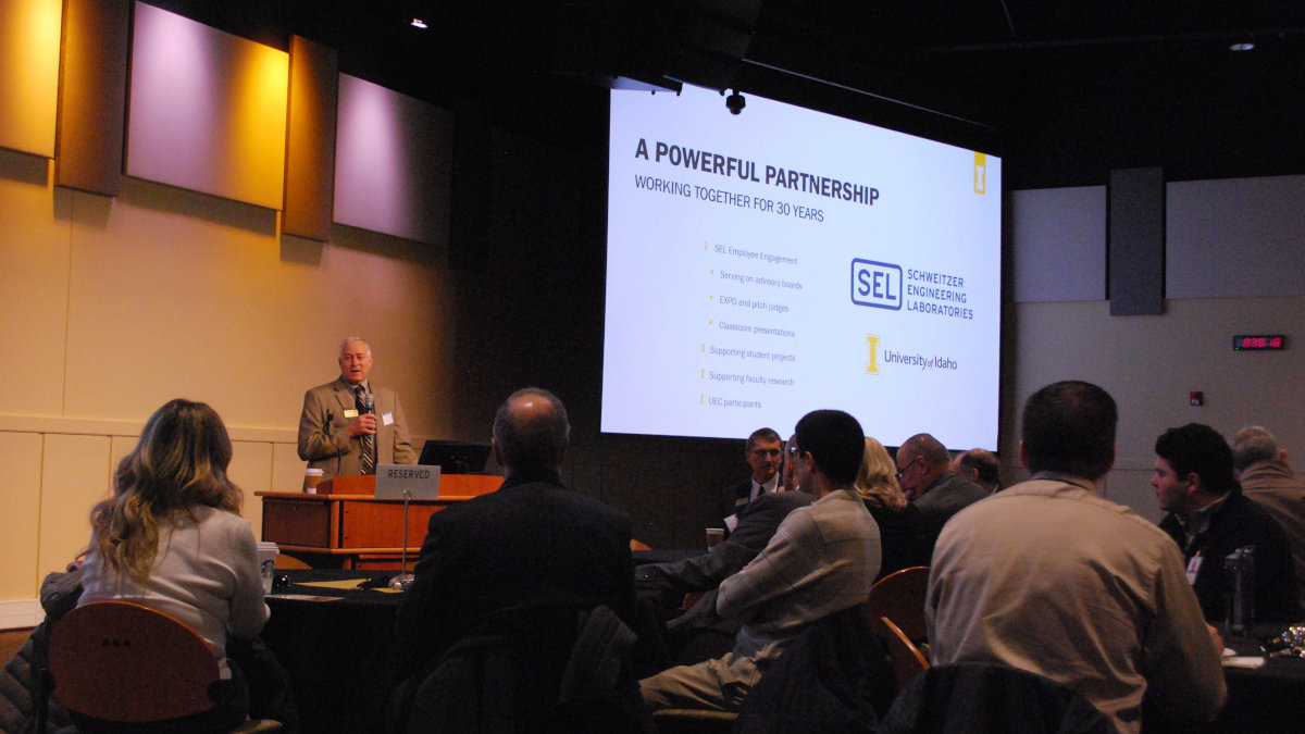 Larry A. Stauffer speaks on SEL partnership