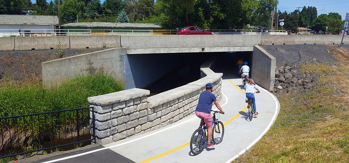 Student Designed Underpass Opens in Moscow - Underpass makes for safer route across Highway 8