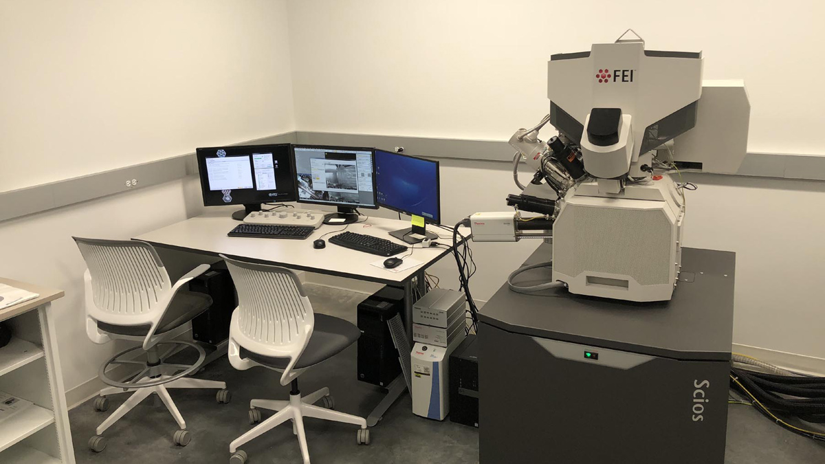 The FIB-SEM Lab