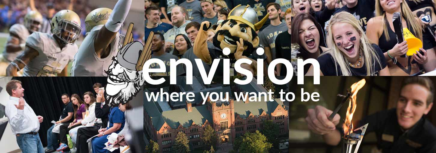 Envision Idaho is an event where students can see what makes the University of Idaho so special.