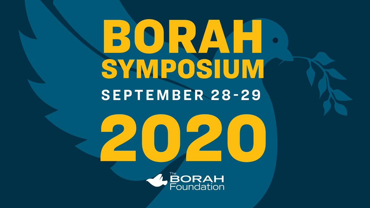 """Borah Symposium September 28-29, 2020"""