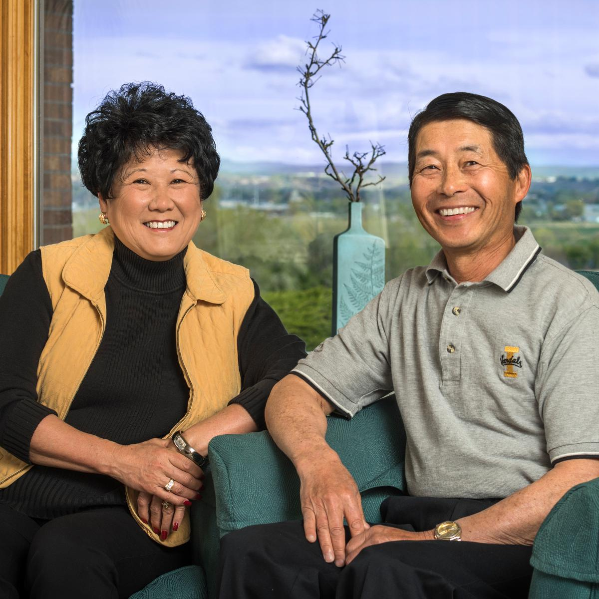 Dennis '70 and Debra (Murata) Ujiiye '73, University of Idaho alumni.